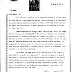 Escrit adreçat a la Comissió Provincial d'Urbanisme
