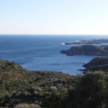Paisatge en la ruta entre Cadaquès i el far de cap de Creus (I)